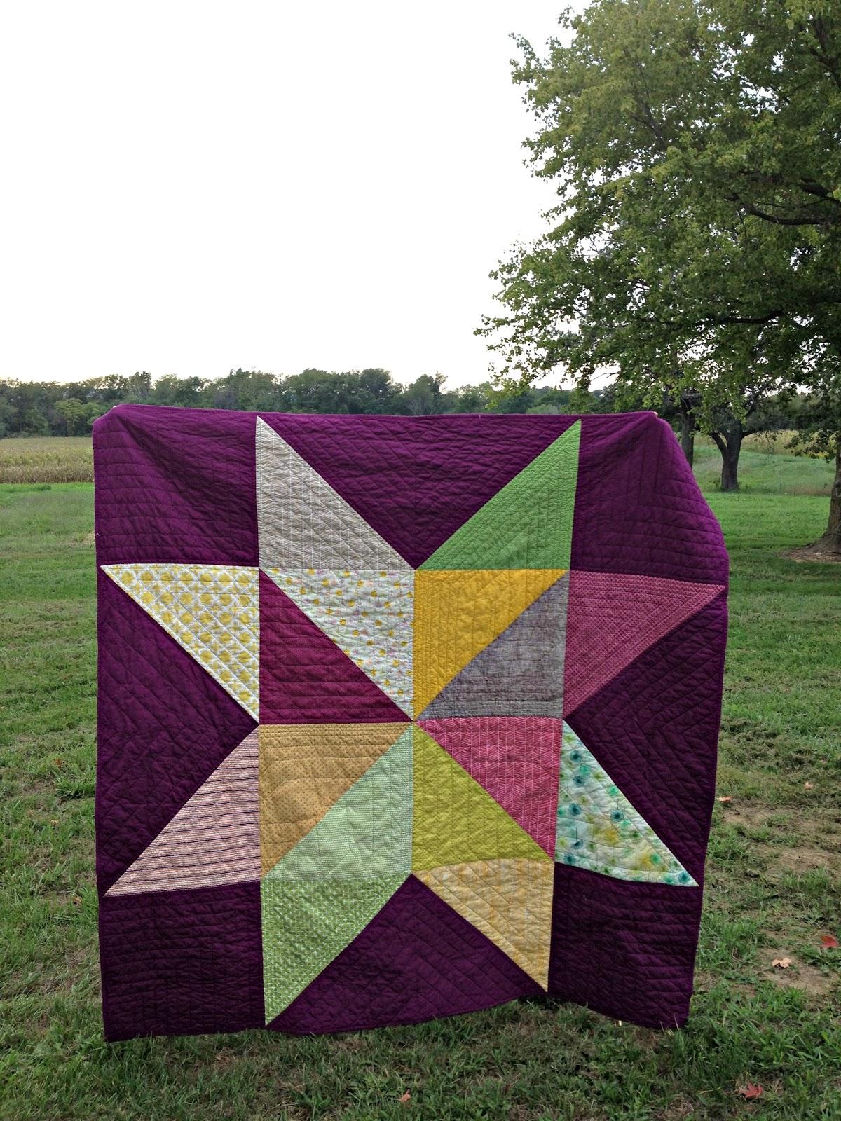 HoosierToni: Taryn's Giant Star Quilt : large star quilt pattern - Adamdwight.com