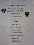 Brainstorm, Bucuresti, The Silver Church, 8 aprilie 2012 - setlist, pene si autografe