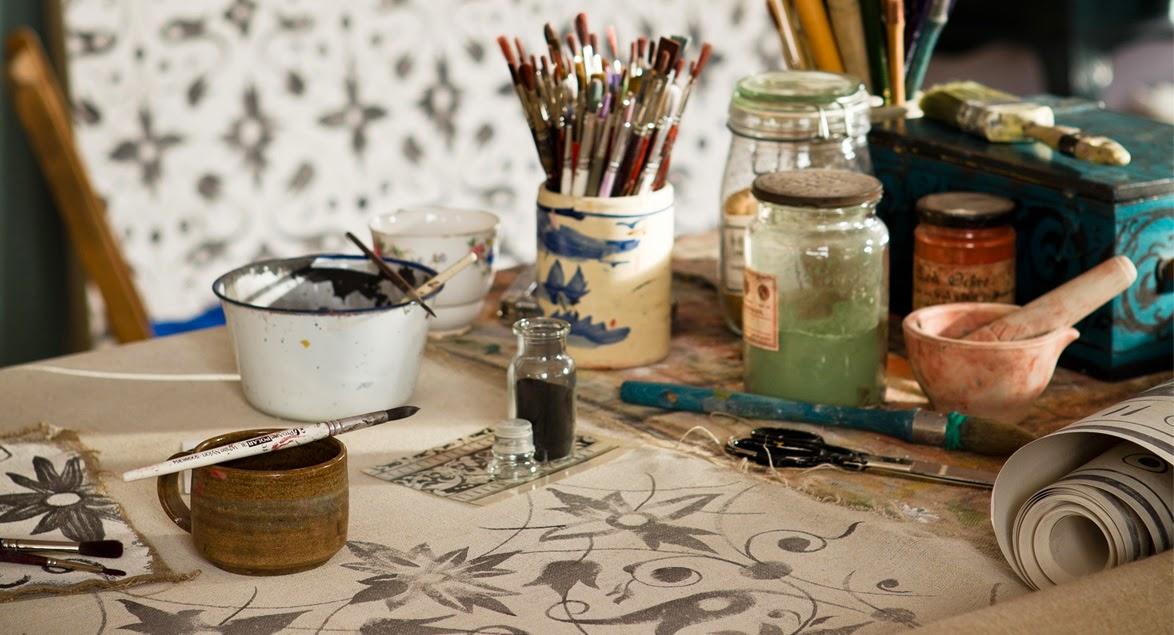 Melissa White Studio setup