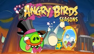 Angry Birds Seasons Abra-Ca-Bacon Android Game