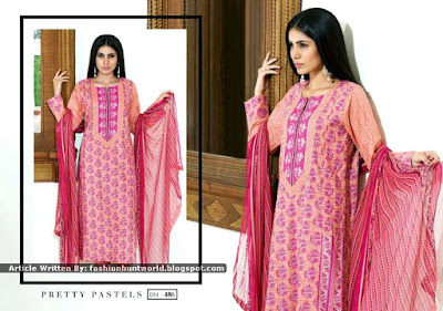 Satrangi Pret-Lawn Eid Collection 2015 By Bonanza