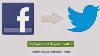 Menghubungkan facebook fanpage ke twitter