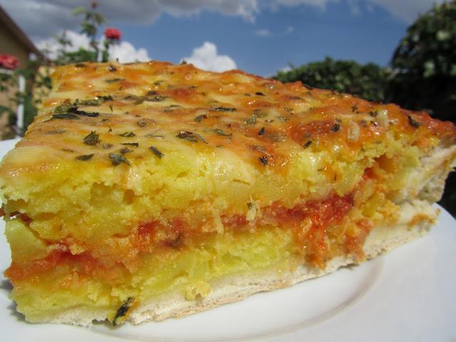 Pizza de tortilla Ana Sevilla