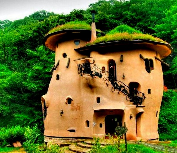 The flying tortoise beautiful creative handmade bohemian houses - The cob house happiness lies in simple things ...