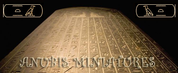 Anubis Miniatures