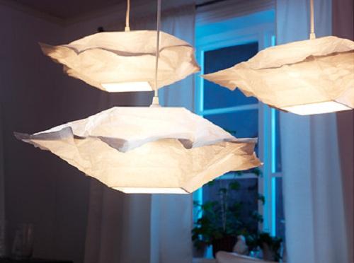 Decoraxpoco las lamparas de papel est n a la ltima - Lamparas de techo de papel ...