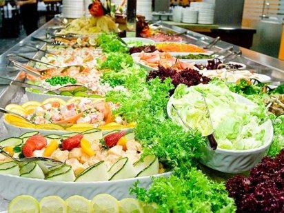 Ensaladas de verduras crudas y cocidas