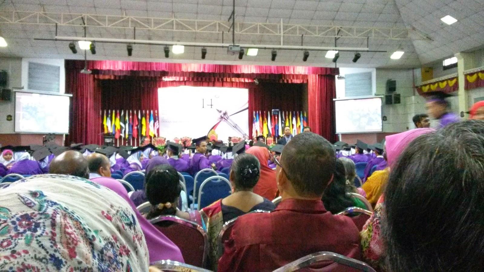 Majlis Konvokesyen Politeknik Seberang Perai yang ke Hatie Politeknik Seberang Perai