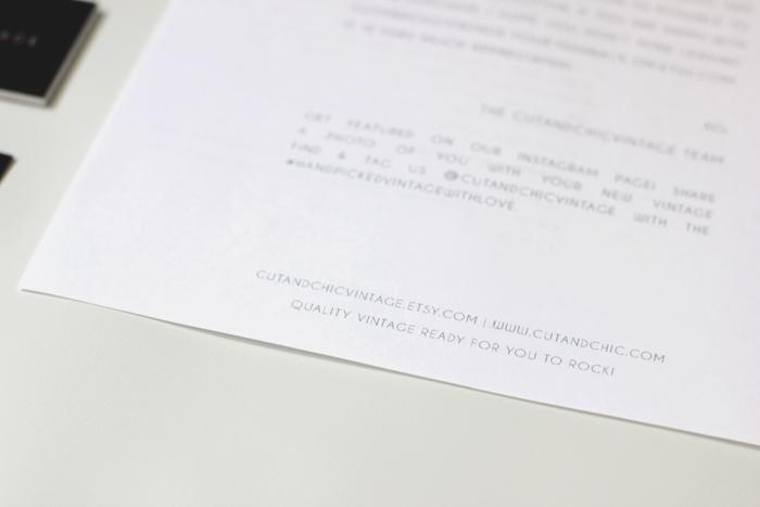 cutandchicvintage brand design 4