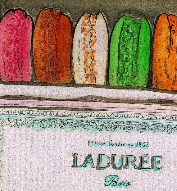 Ladurée Macaroons by Diana Evans