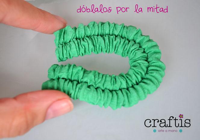 El blog de craftis arte a mano c mo hacer un arbolito de - Como hacer un arbol de papel grande ...