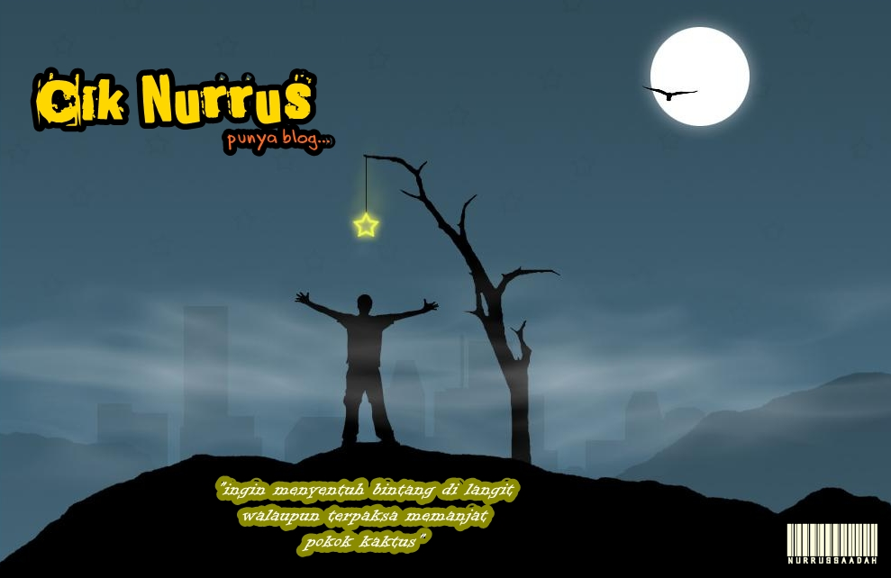 Cik Nurrus punya blog