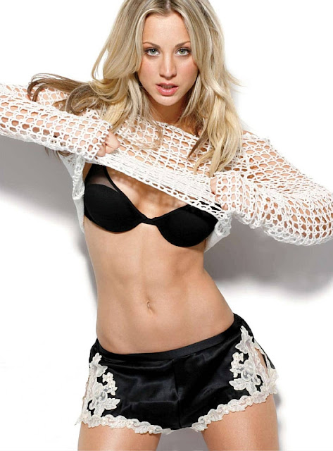 Kaley Cuoco-Penny-The Big Bang-fitness beauties