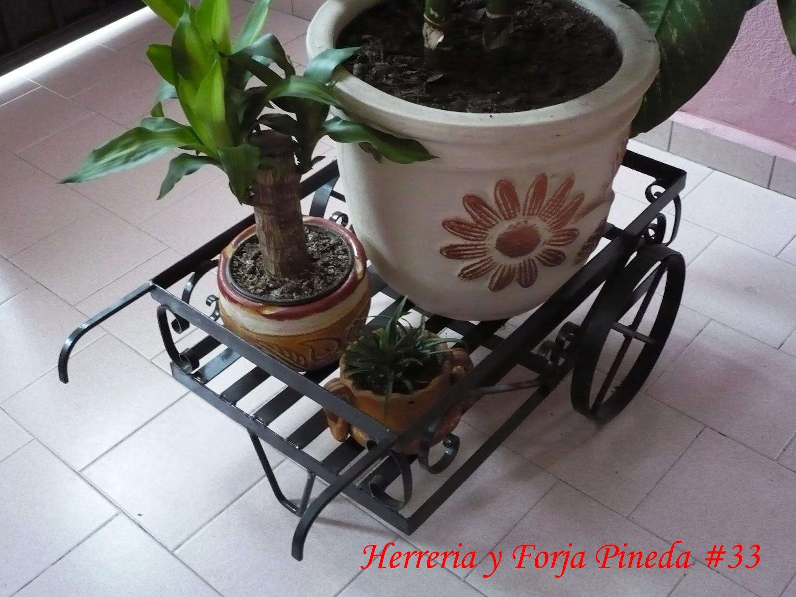 Herreria y forja pineda - Muebles de jardin de forja ...