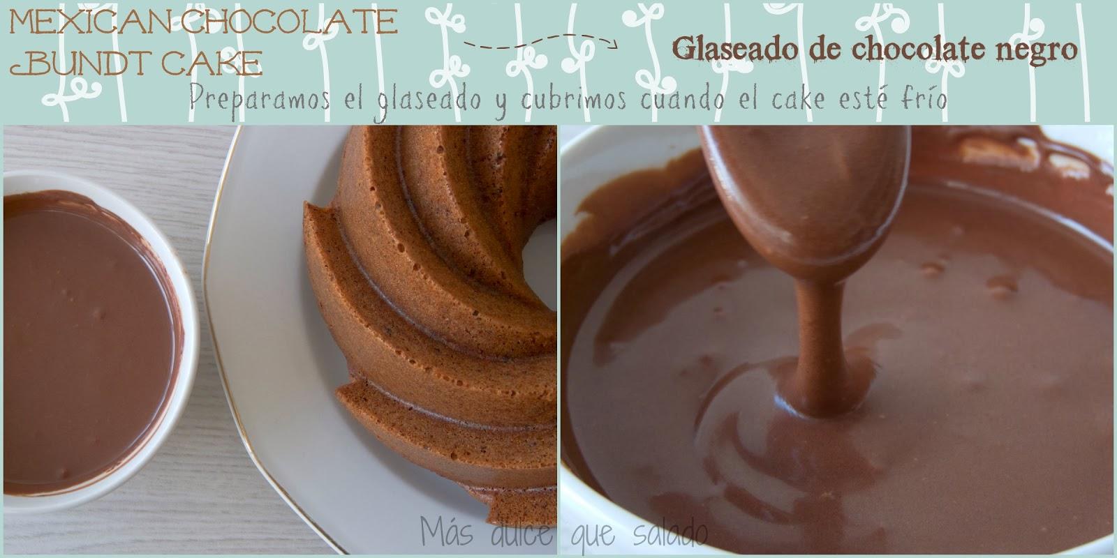 M s dulce que salado mexican chocolate bundt cake - Robot de cocina alcampo ...