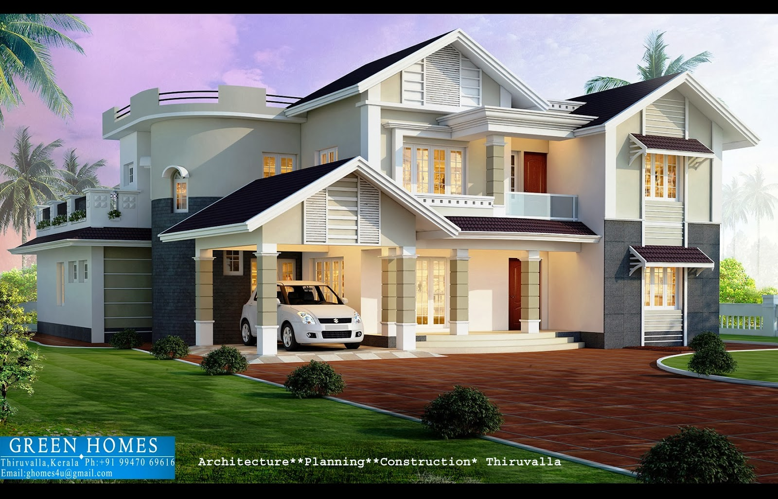 Green homes beautiful home design for Green home plans