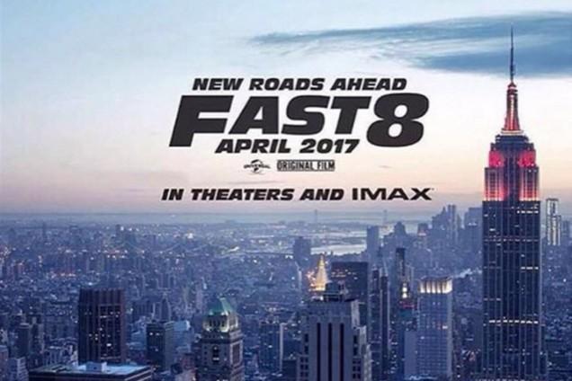 Annoncé pour avril 2017, le 8ème épisode de la saga Fast&Furious s'offre une première image.