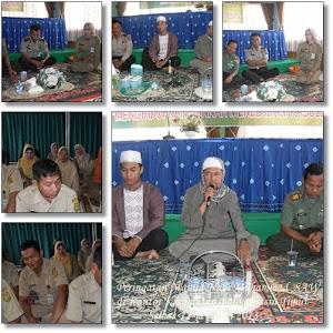 Peringatan Maulid Nabi Muhammad SAW di Kecamatan Banjarmasin Timur Tanggal, 12 Pebruari 2013