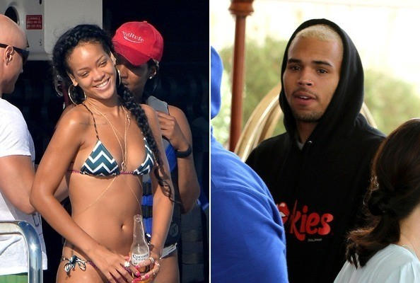 Rihanna and Chris Brown Party in St. Tropez at the Same Time » Gossip | Rihanna | Chris Brown