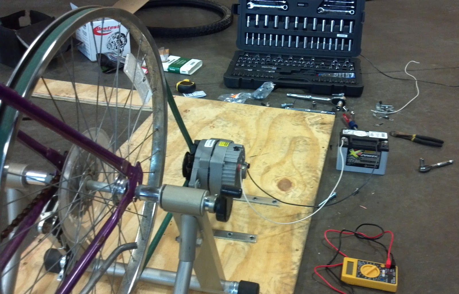 BICYCLE GENERATOR | Real Africa: Advancement and Adventures in the ... for bicycle generator alternator  181plt