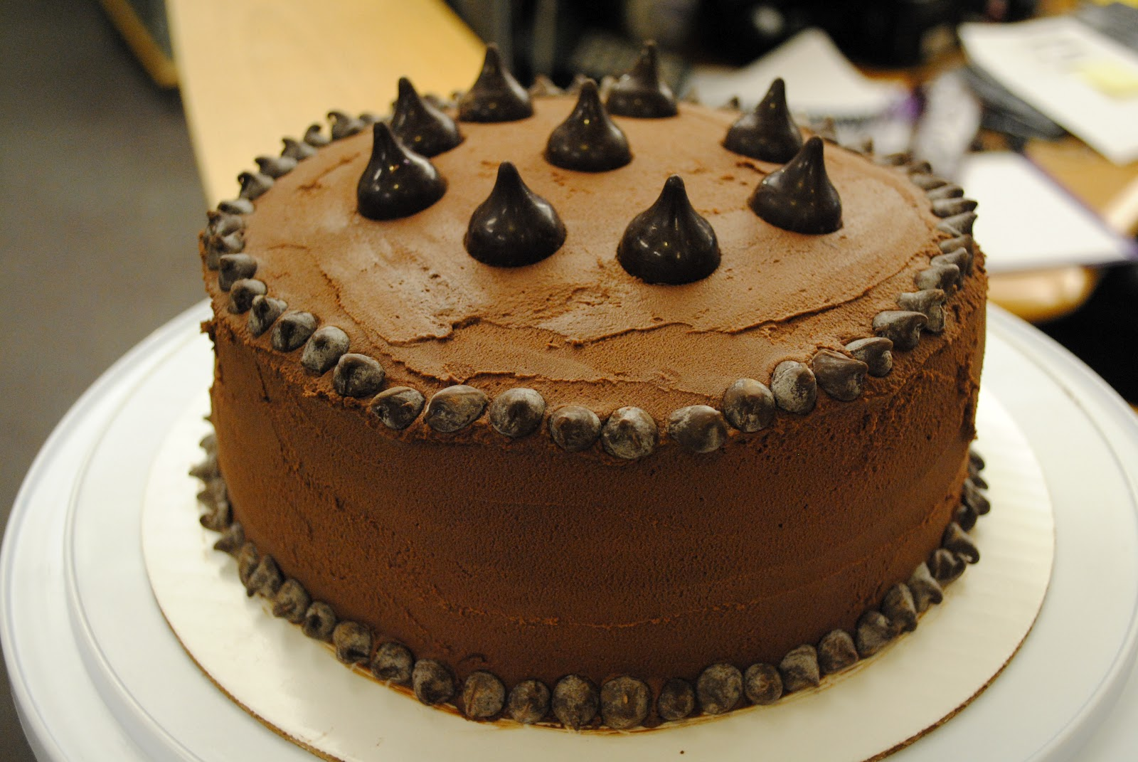 designed by Diana: Chocolate cake