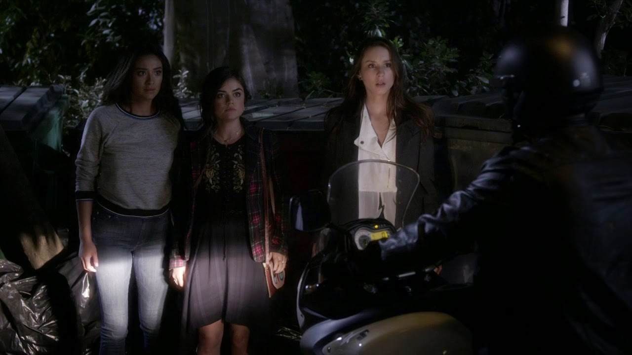 Cyrus warns Spencer, Aria, and Emily PLL 5x19