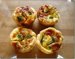 summer vegetable tartlets