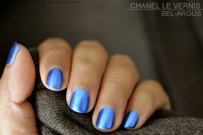 LEte Papillon de Chanel Makeup Collection Summer 2013 Le Vernis Nail Polish Lacquer Bel Argus 667 Indian Darker Skin Beauty Blog Swatches Photos Review NOTD