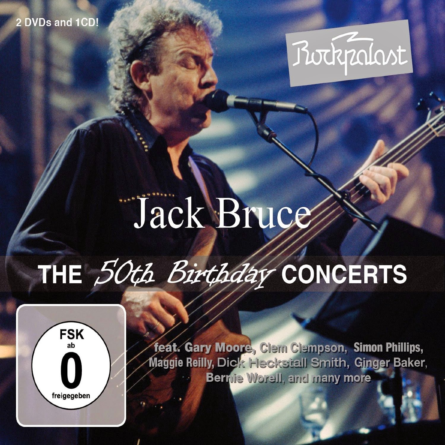 Jack Bruce's The 50th Birthday Concerts