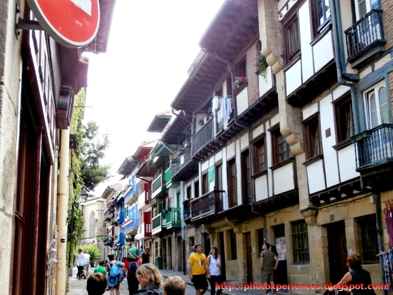 Calle San Nicolás de Hondarribia - Fuenterrabía