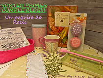 Sorteo Primer Cumple Blog
