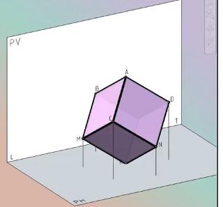 Sistema Diédrico 3D