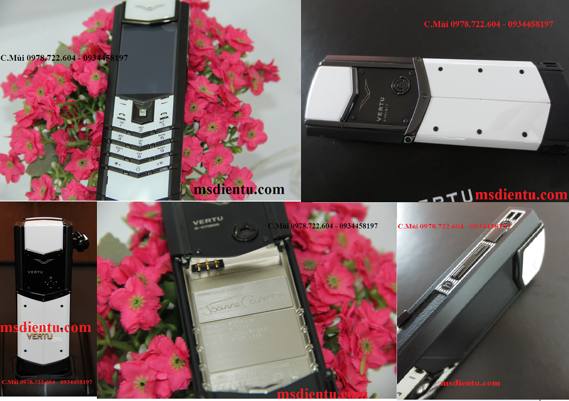 Vertu Signature S Black&White fake loại 1