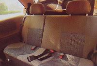 asientos atras interior chevrolet corsa classic 1.4 gls
