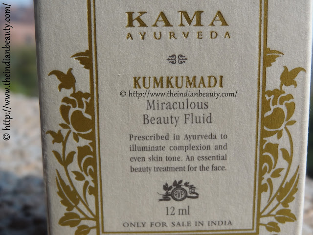 kama ayurveda kumkumadi beauty fluid 4