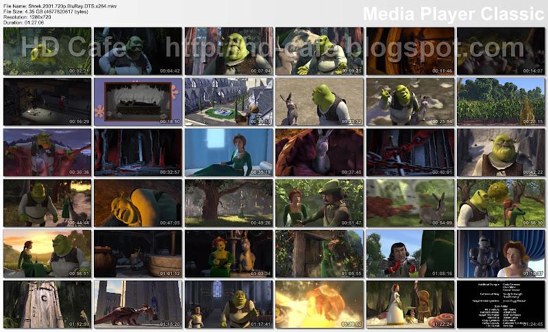 Shrek  2001 video thumbnails