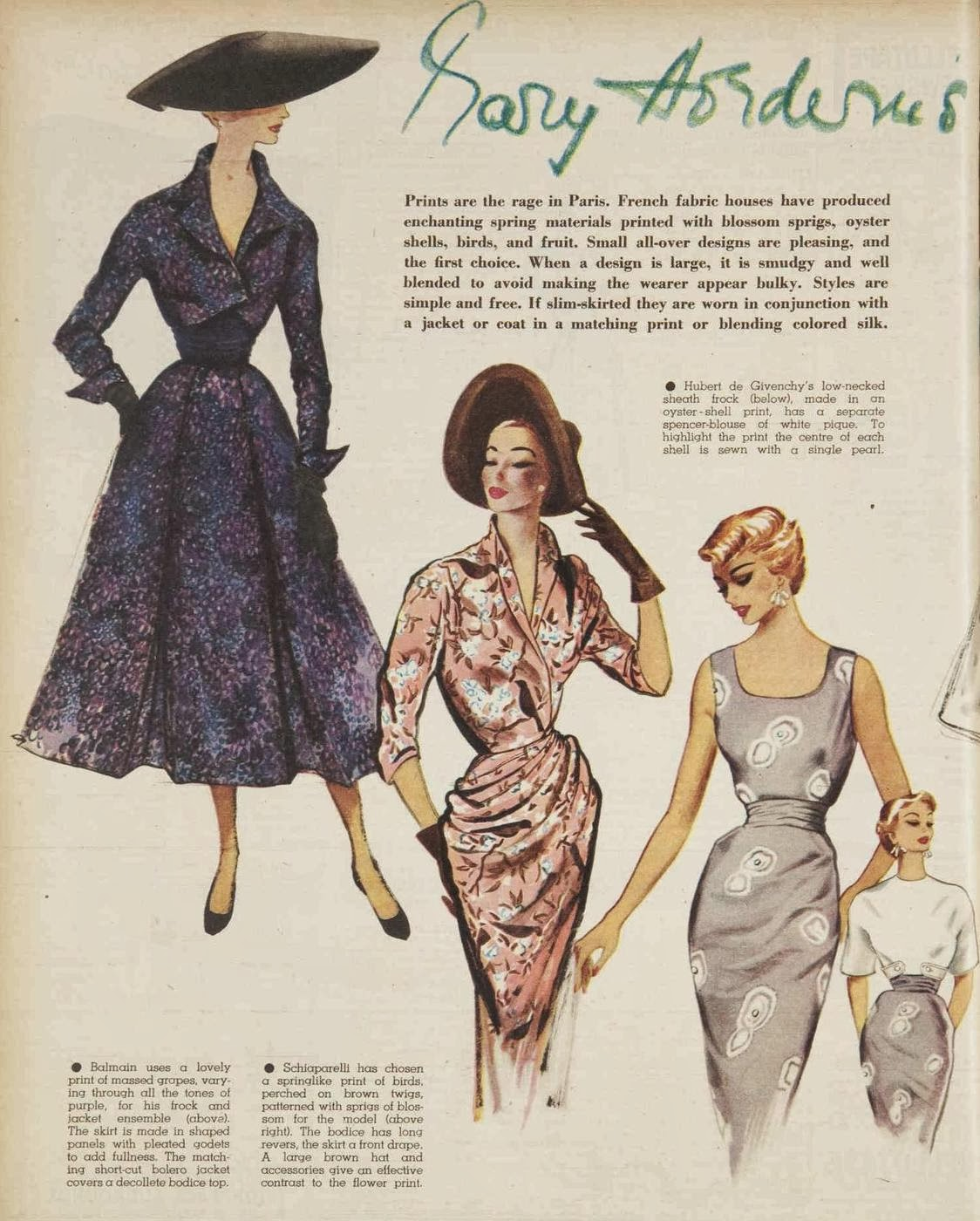 Kitten Vintage: Fashion of 1953 and 80 Years of the AWW