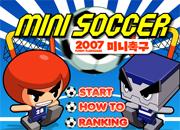 juegos de futbol mini soccer