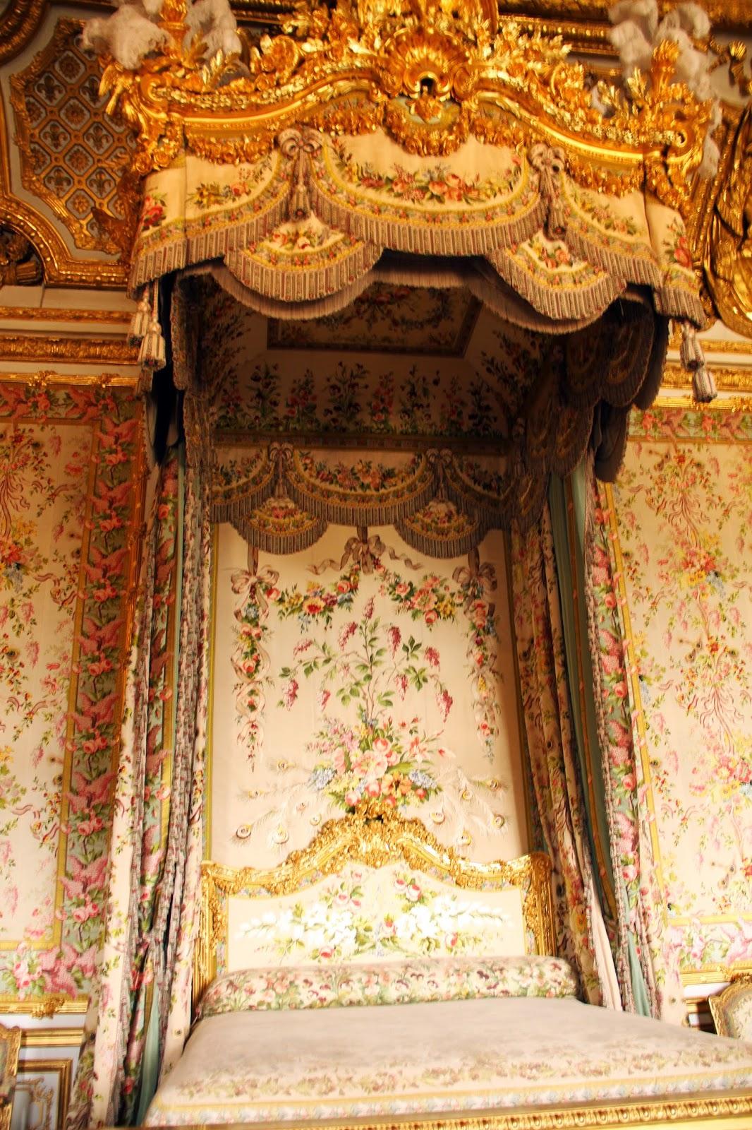 покои Марии-Антуанетты в Версале