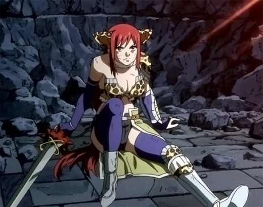 fairy tail erza scarlets armour