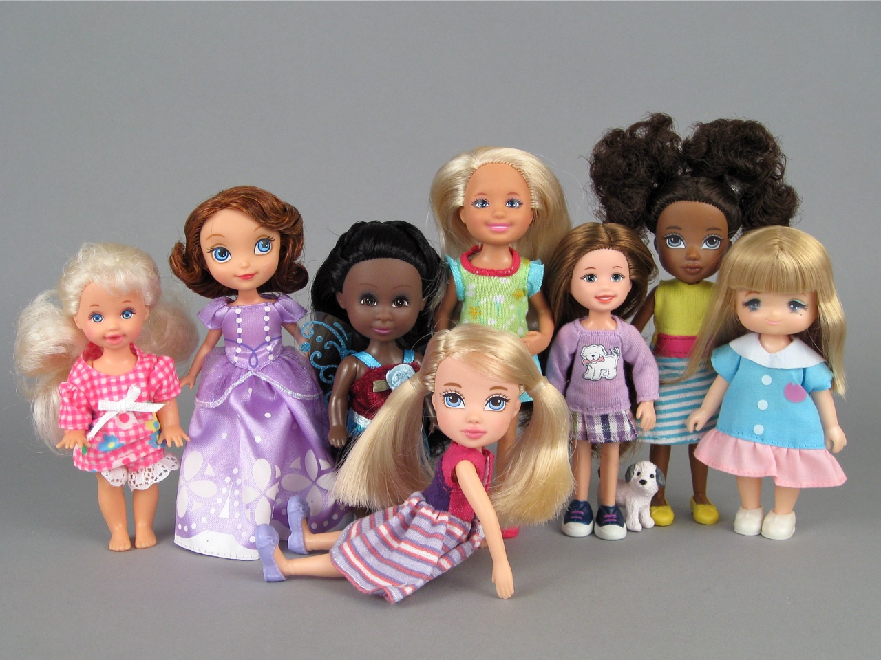 "Moxie Girlz ""Friends"" Mini Dolls by MGA Entertainment 