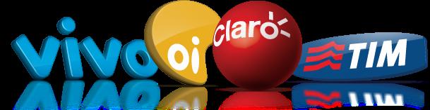 Coloque Crédito de Celular pela internet Tim Vivo Oi Claro. Clique na foto