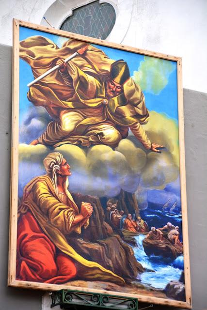 Capri church painting