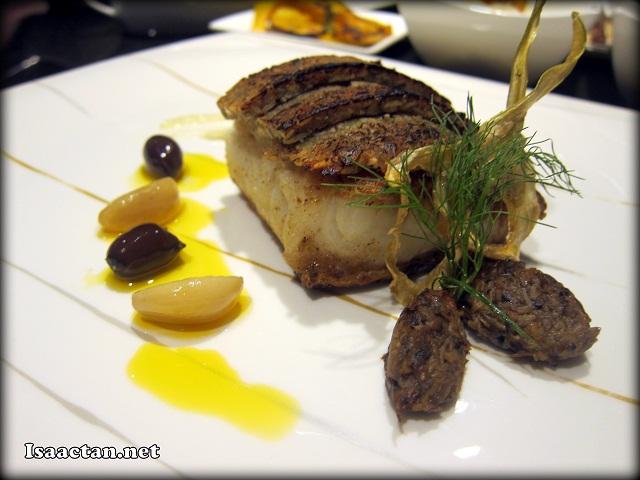 #3 Pumpkin Seed Crusted Black Cod - RM72
