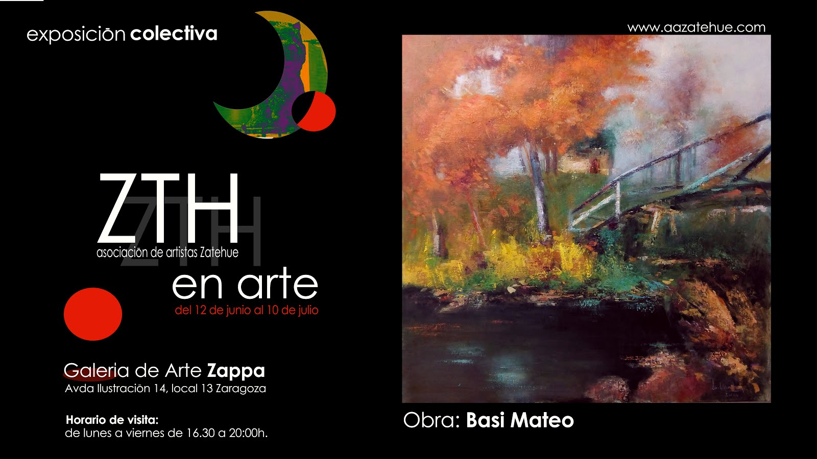 EXPOSICIÓN ART ZAPPA ZARAGOZA