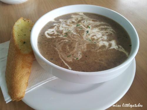 Privé's Signature Mushroom Soup