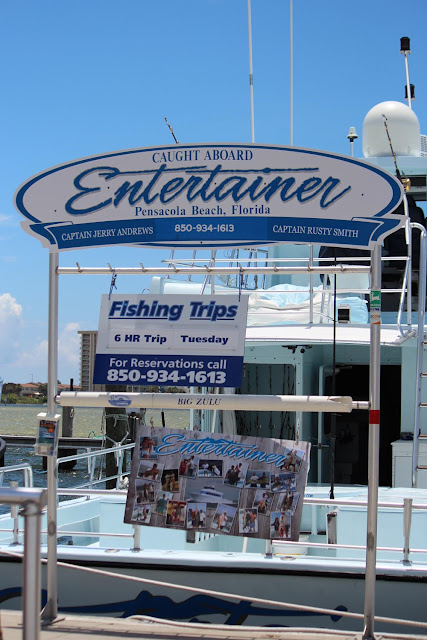 Entertainer Pensacola Beach FL Charter fishing