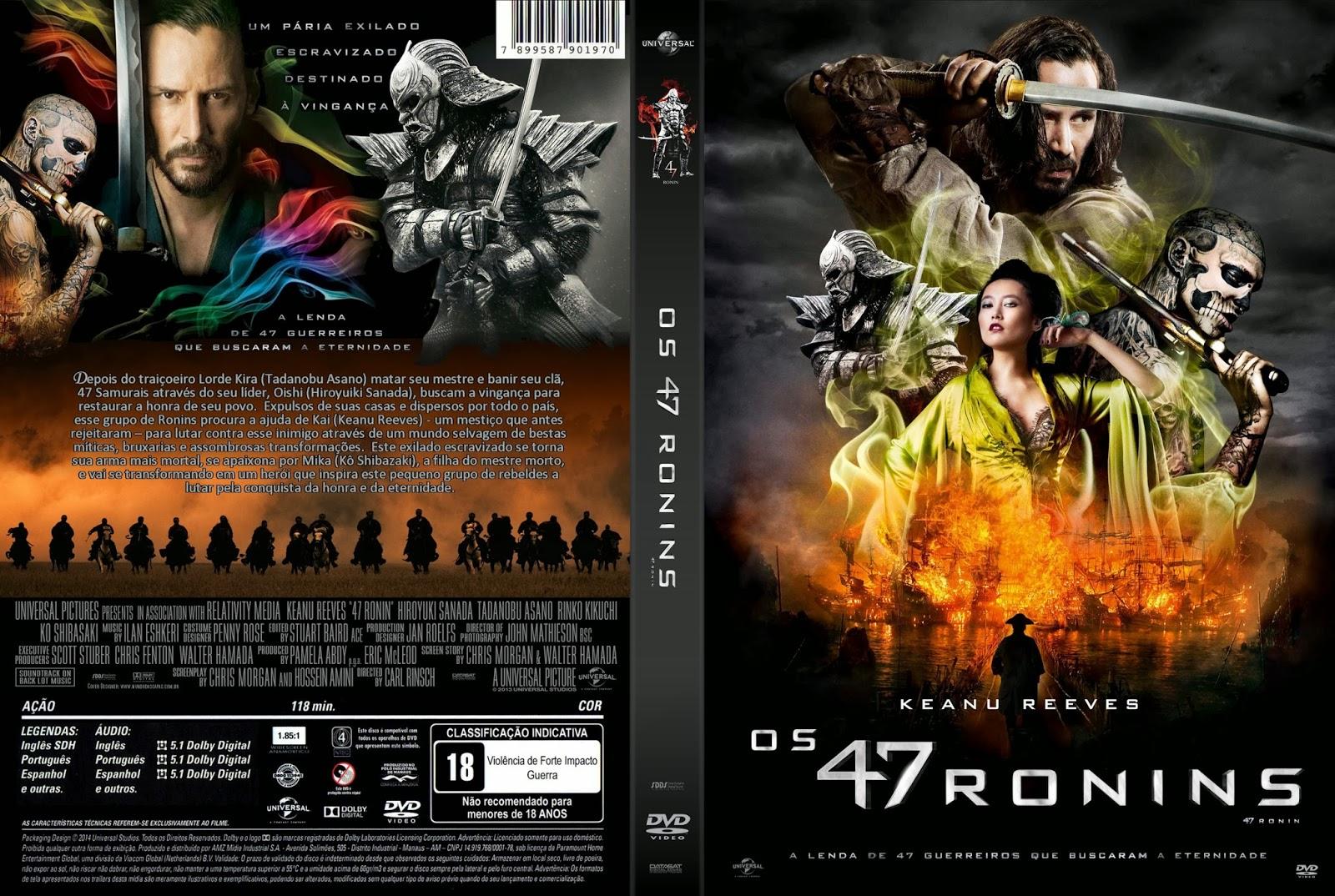 47 Ronins DVD-R Os 47 Ronins