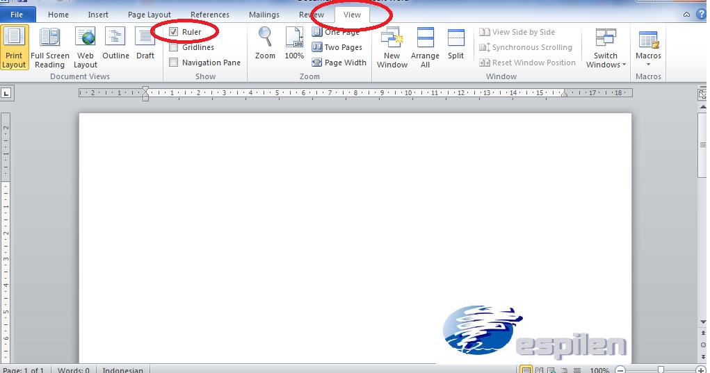 Cara Membuat Daftar Isi Titik-Titik Otomatis di Ms. Word