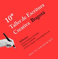 10° Taller de Escritura Creativa 2015 en Bogotá